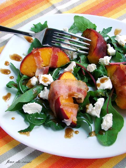 салат персик-бекон 2