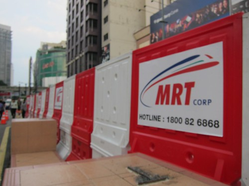 MRT under Construction