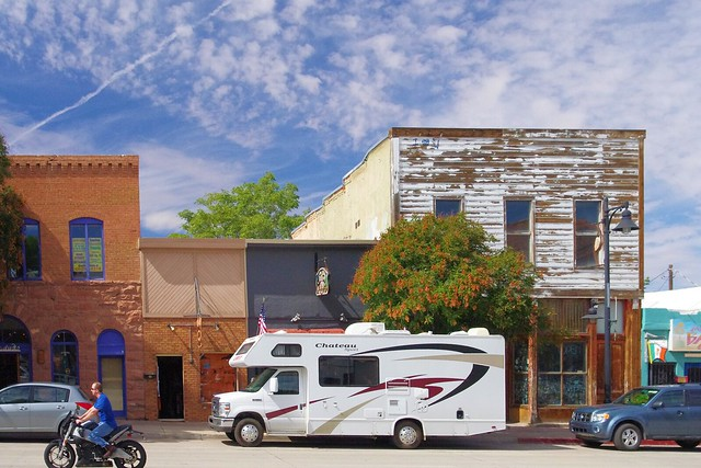 Chateau Class C Motorhome, parked in Moab, Utah, September 24, 2011