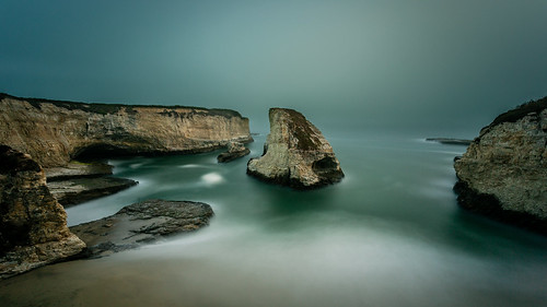 Foggy Shark Fin Cove