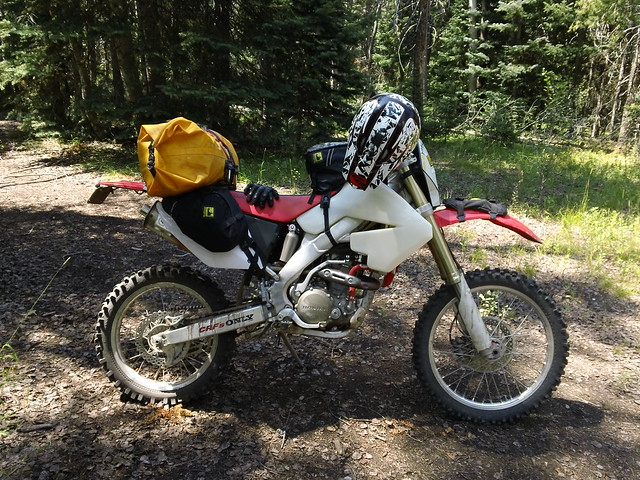 Turning a CRF 450x into a road legal adventure bike ...