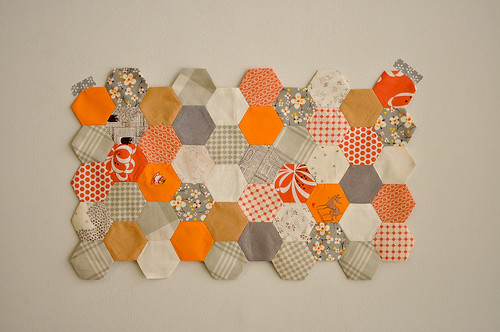 Hexagon Block by Rosalyn