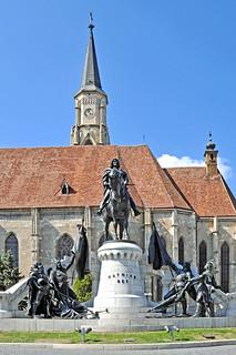 Romania-2352 - Matthias Corvinus' Statue