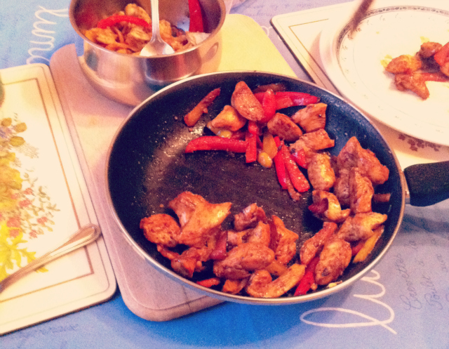 11 food blog uk lifestyle fajita mexican girls night in