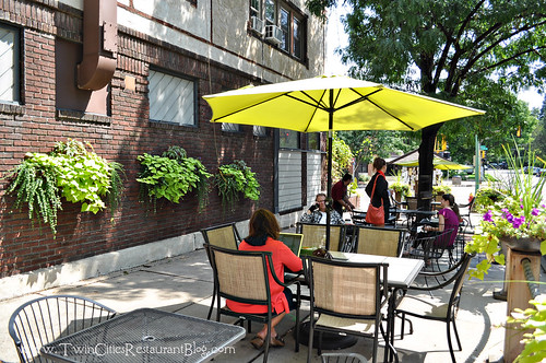 Sidewalk Patio at Finnish Bistro ~ St Paul, MN
