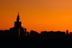 [フリー画像素材] 建築物・町並み, 朝焼け・夕焼け, 風景 - ロシア, 橙色・オレンジ ID:201208241600