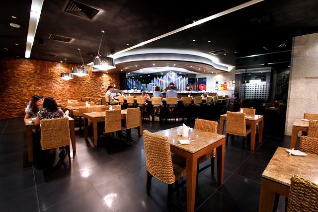 海湾寿司:室内