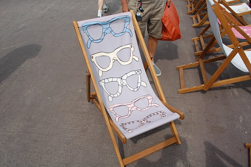 Weymouth deckchairs