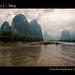 Río Lí Jiāng - China (Paisaje del billete de 20 yuanes) by Leo Ferrer