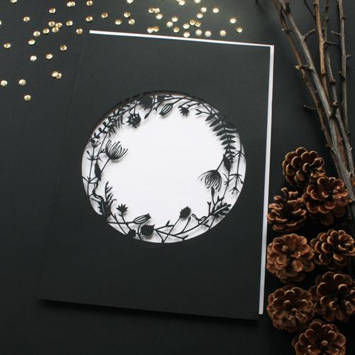 Mr Yen Botanical Papercut Lace Circle