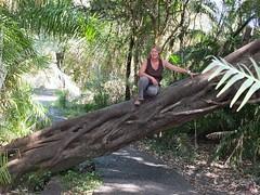 Gabby at Victoria Falls