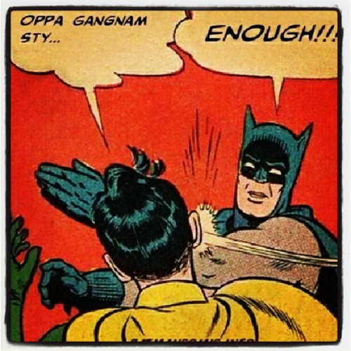 Let's dance the horse move!!!! #gangnam #style #batman #robin/></a></p> 				</div>  				<p class=