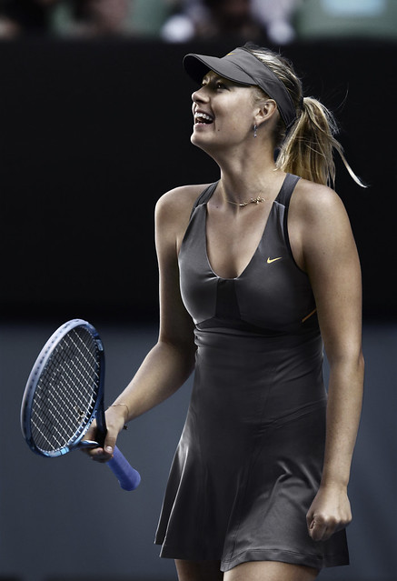 Maria Sharapova US Open dress - night