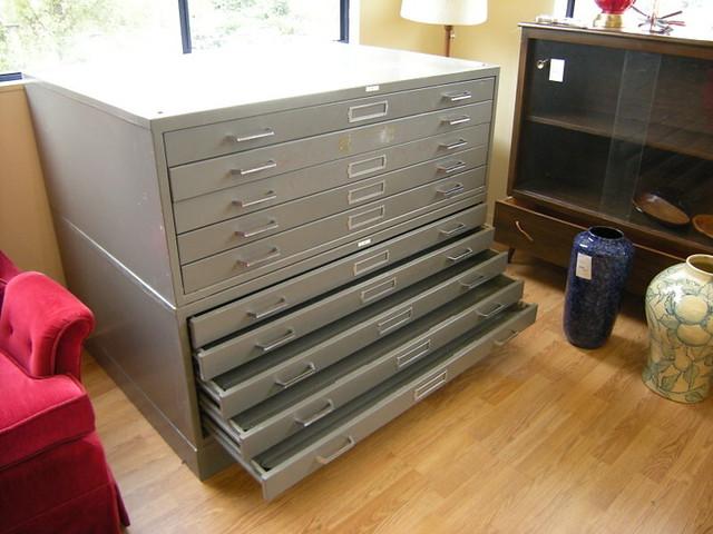 Innovative Large Oak Filing Cabinets  Antiques Atlas