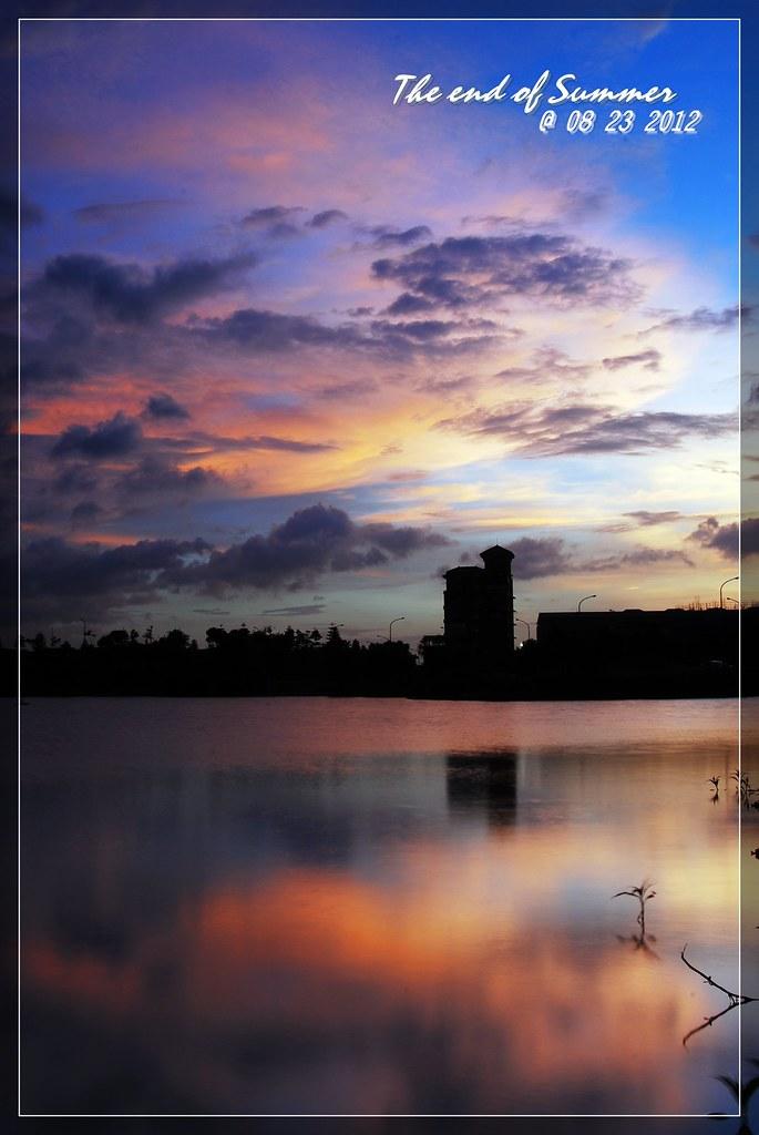 天秤前夕的天空