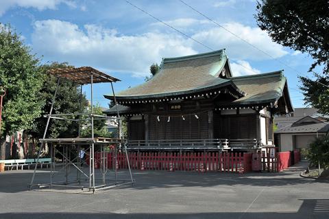 羽田の浜の漁師町 穴守稲荷〜天空橋