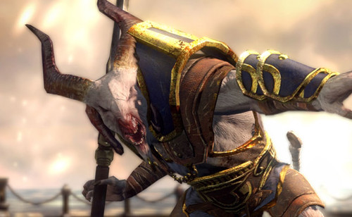 God of War: Ascension - The Satyr Captain