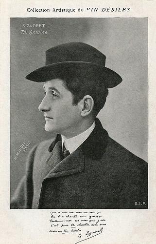 Gabriel Signoret, Vins Désiles