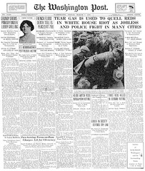 Tear Gas Quells Reds: Washington Post 1930
