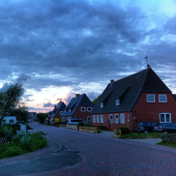 Abends in #Hörnum