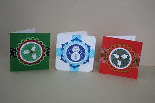 A trio of Christmas Tags