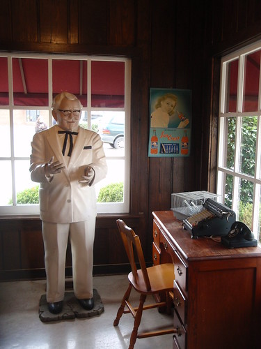 The colonel's office