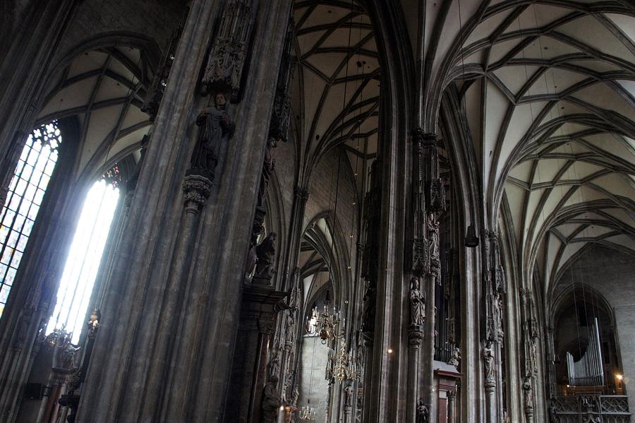 Собор Святого Стефана.Вена, Австрия 2012 - авторские путешествияKartzon Dream © Kartzon Dream - авторские путешествия, авторские туры в Индию, тревел фото, тревел видео, фототуры