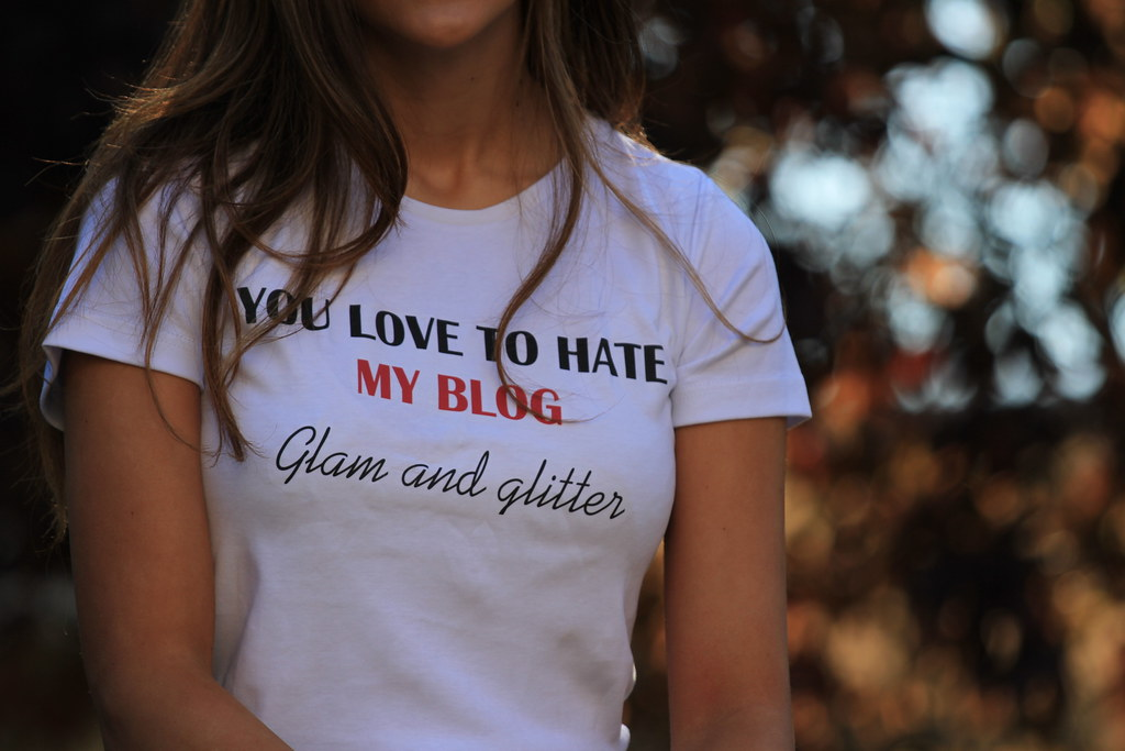 you love to hate my blog