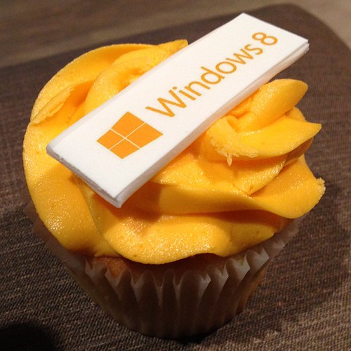I'm a cupcake, and Windows 8 was my idea.