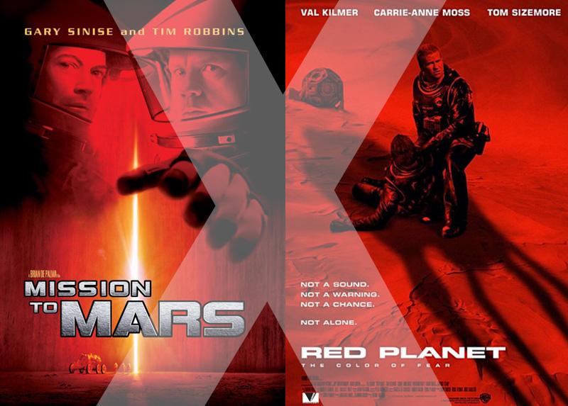 Missão Marte Vs. Planeta Vermelho
