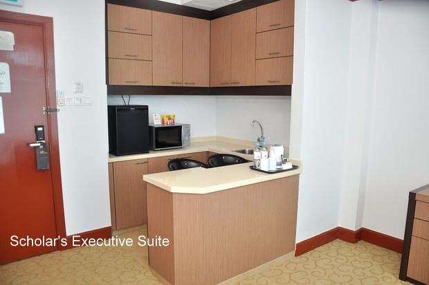 Scholar's Executive Suite Pantry