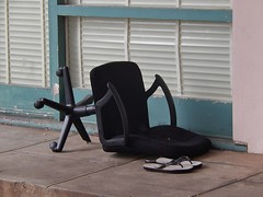 Tired Chair With Thong