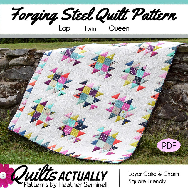 Forging Steel Quilt Pattern