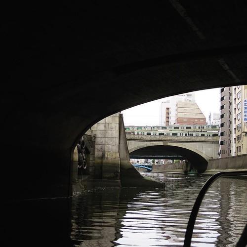 橋、また橋。 #ヤマハマリン #勝どきマリーナ
