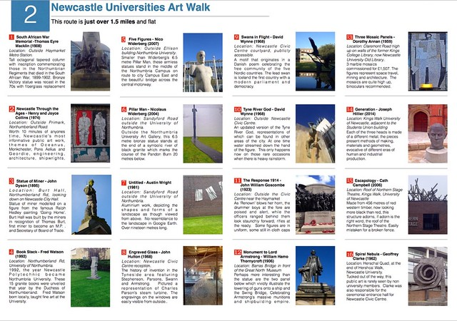 Newcastle Universities Art Walk