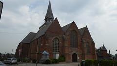 Morbecque,  59190 .- Église Saint-Firmin,