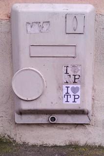 Image of Daubenton. street streetart paris art love sticker stickerart tp aufkleber autocollant parisv ilovetp