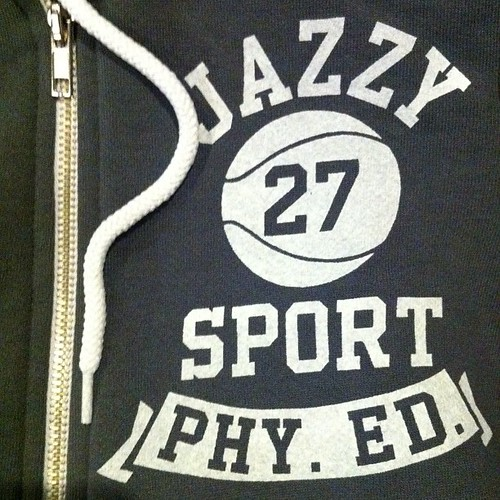 PHY ED ZIP HOODIE:Asphalt