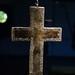Maastricht, Limburg, Sint Servaaskerk, treasury, crucifix of St. Servaas, back