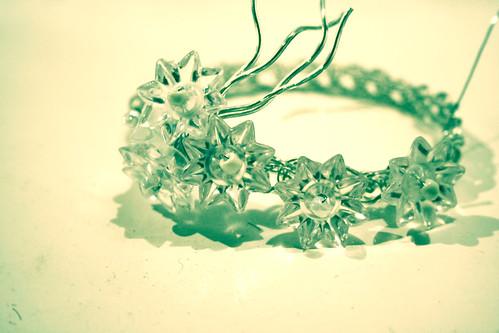 Iceflower bracelet