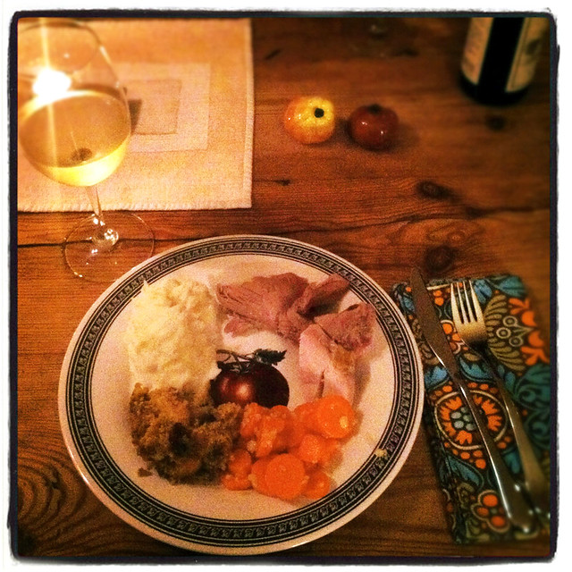 Thanksgiving: Dinner!