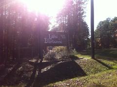 Lake Darbonne Sign