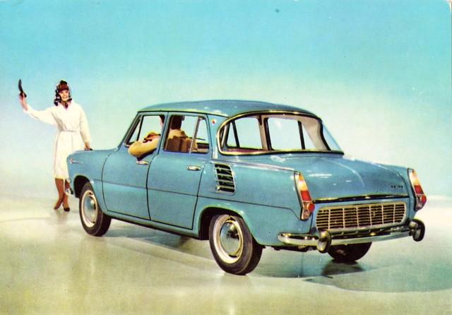 Skoda 1000 MB 1965