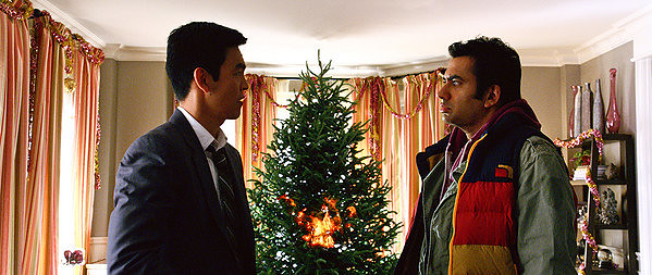 John Cho and Kal Penn offer up a truly depraved Christmas movie in <i>A VERY HAROLD & KUMAR 3D CHRISTMAS.