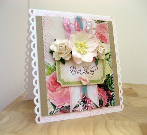 TRR#16 NEW BABY GIRL CARD