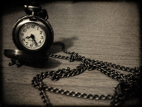 as time ticks by...