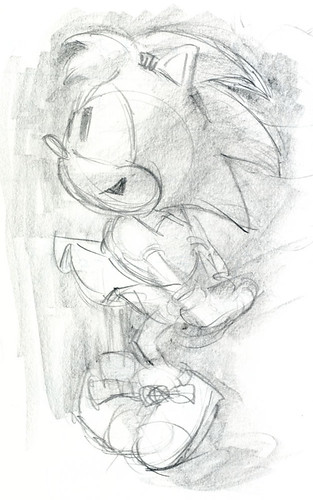 Sonic CD - Concept Art - Amy