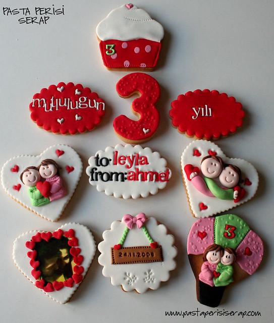 yıl dönümü kurabiyeleri