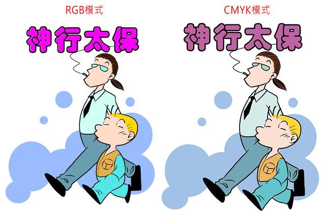 CS輸出成CMYK的設定