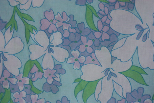 Vintage Aqua Sheet by myvintagewhimsy